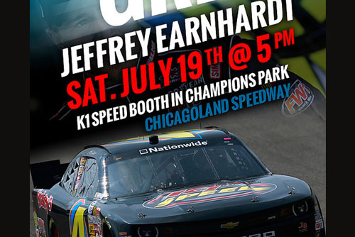 Jeffrey Earnhardt Meet and Greet
